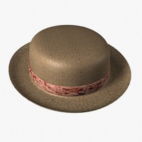 3ds max straw hat