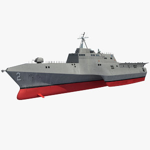 uss independence lcs-2 lcs 3d model