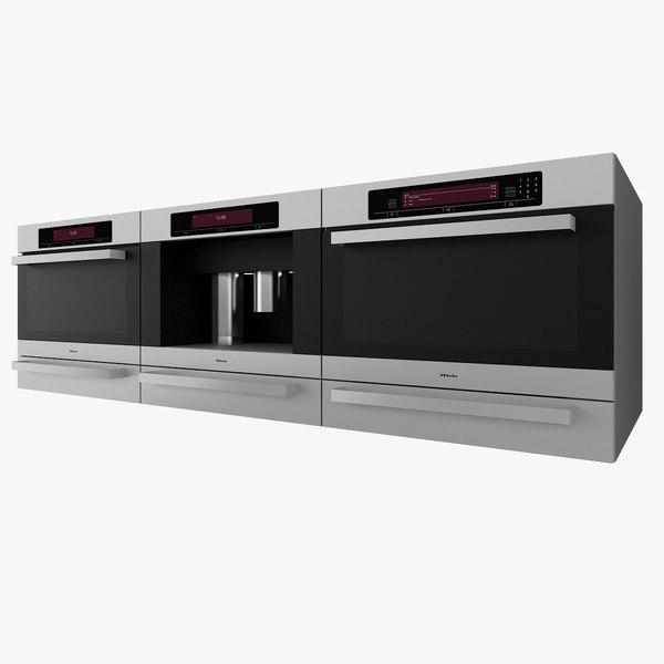 kitchen applicances oven 3d model