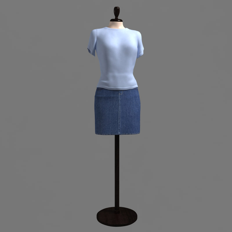 dummy showroom - 3d model