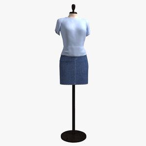 dummy showroom - 3d model