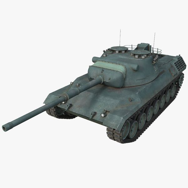 3d leopard 1 germany main