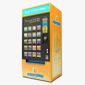 lotto machine 3d model