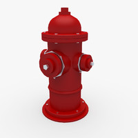 hydrant street 3d model