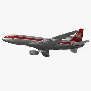l-1011 tristar passenger 3ds