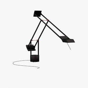 3d tizio lamp - artemide