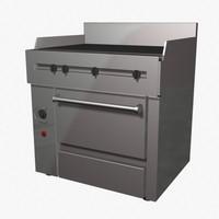 3d range oven