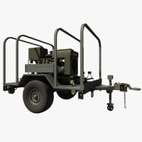 US Military LIBBY Generator Trailer