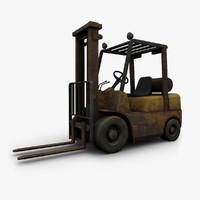 Old Forklift