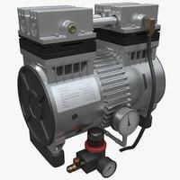 air compressor 3 3d max