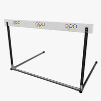 3d athletics hurdle