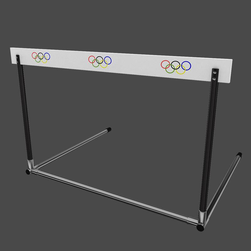 3d athletics hurdle