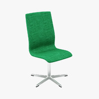 3d arne jacobsen oxford chairs