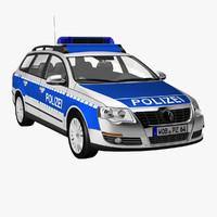 VW Passat Police