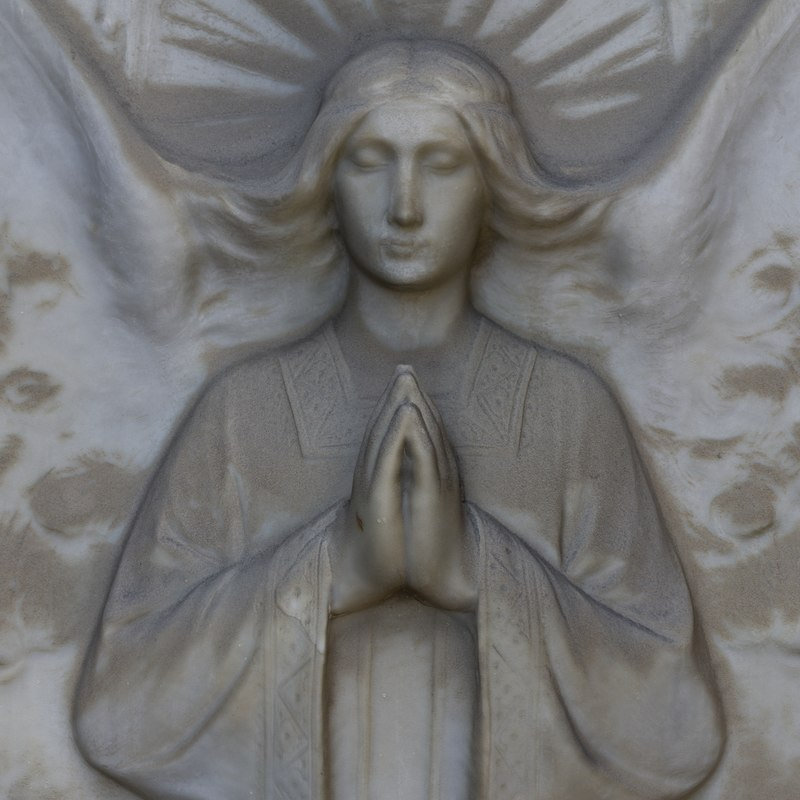 angel relief model