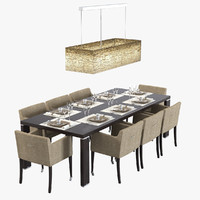 Mathias Carlomango Dining Set