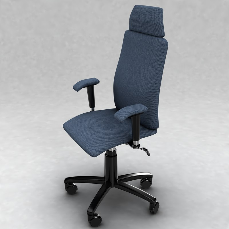 conference office chair 3d model