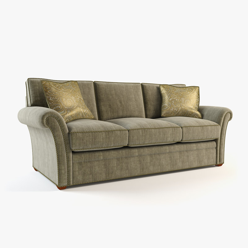 Couch sofa 3d model for Sofa 3d model