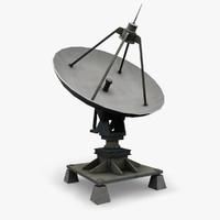 radar antenna 3d model