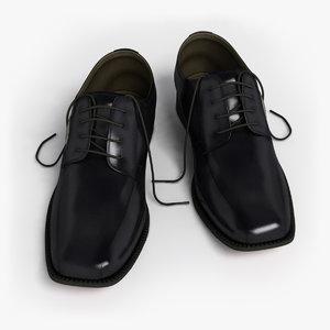 formal shoes 3d model