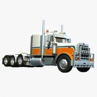 3d lwo pete 388 heavy haulage