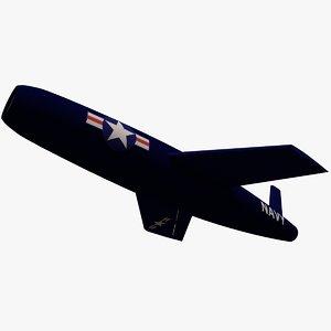 3d navy vought regulus cruise missile