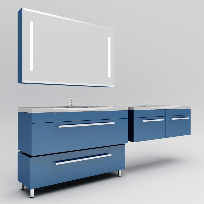 washbasin madrid 3d model