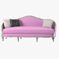 3d max mossonnier classic sofa