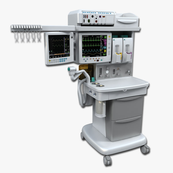 3ds anesthesia breathing operating