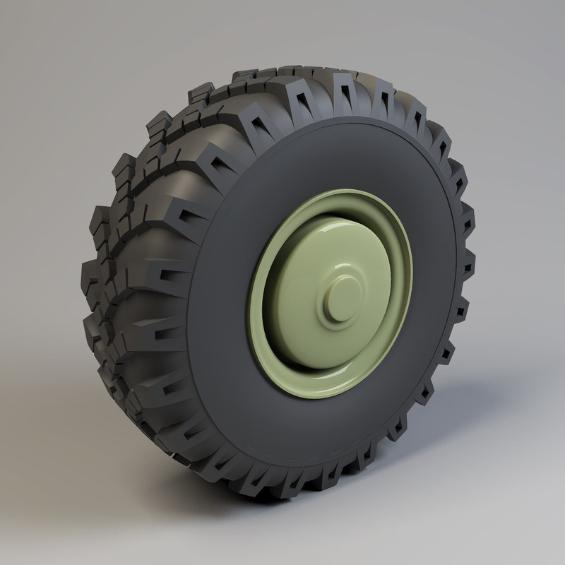 heavy vehicle wheel 3d model