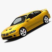 pontiac gto 2006 3d model