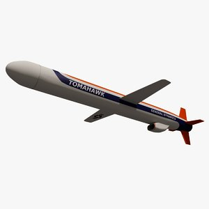 3ds navy bgm-109 tomahawk cruise missile