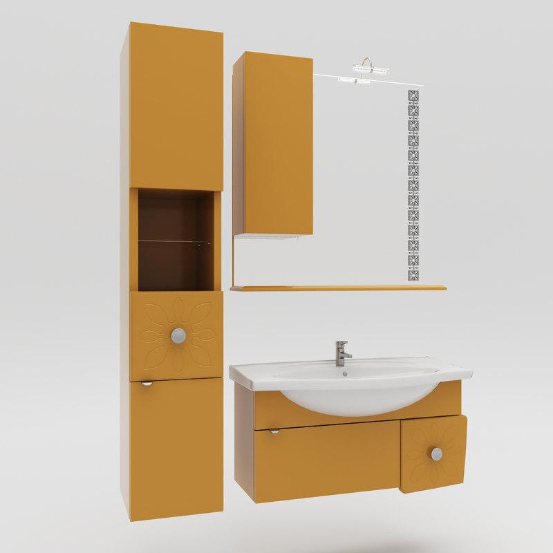 washbasin boston obj