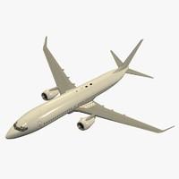 B 737-800 Airplane