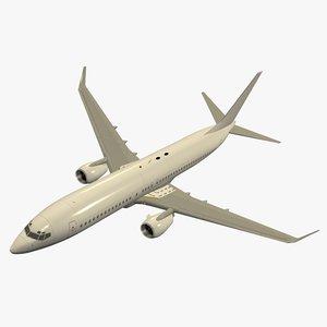 b 737-800 3d c4d