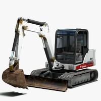 excavator bobcat 341 3d max