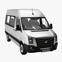 VW Crafter Bus Standard 2009