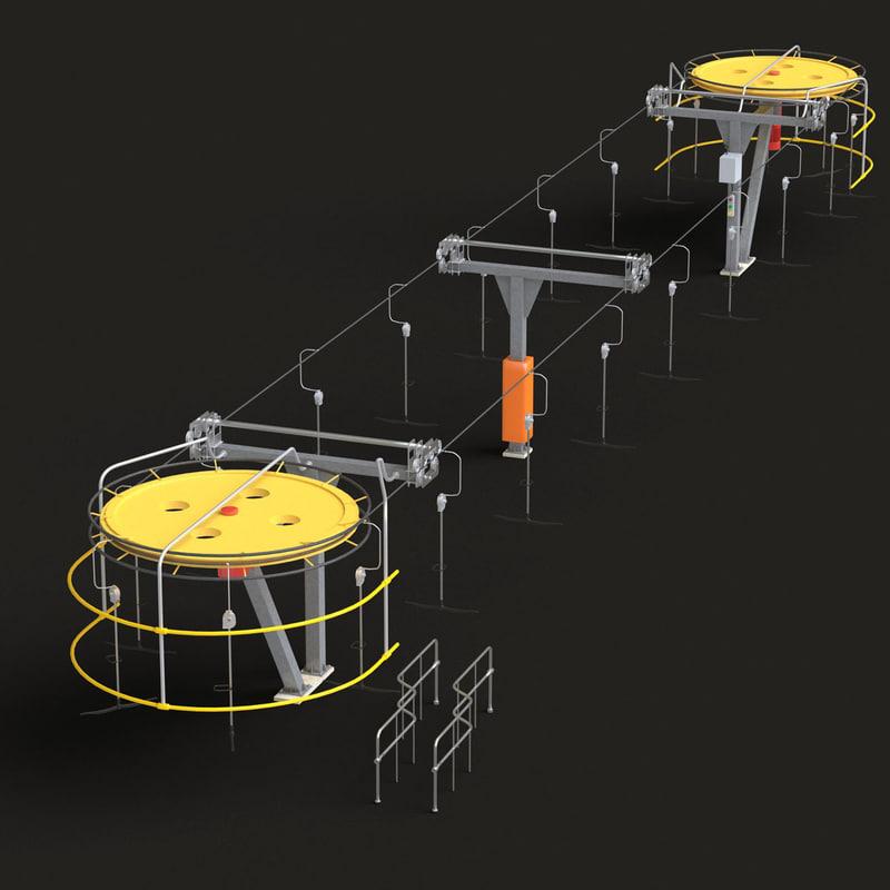 max t-bar ski lift