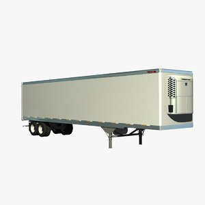 lwo 48ft reefer trailer truck