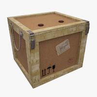 3d postal parcels box