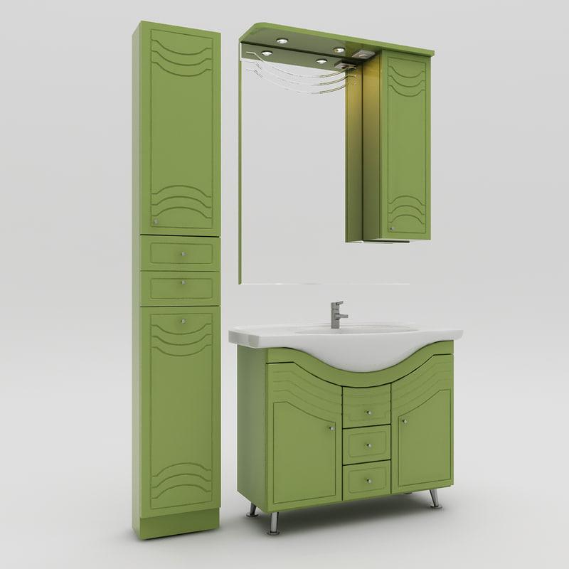washbasin domus 3d model