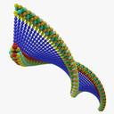 DNA 3D models