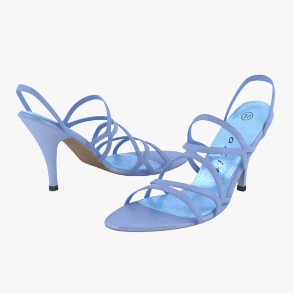 sandal shoe 3d model