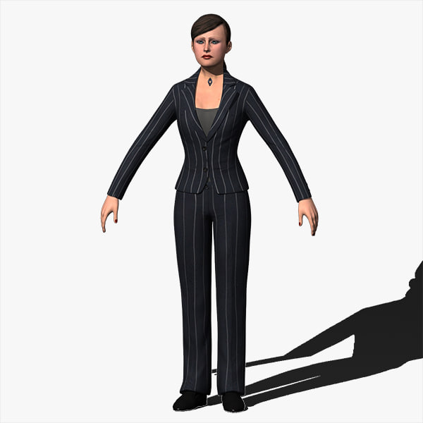 3ds max resolution human female