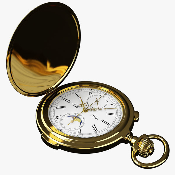 stopwatch russian watches 3d max