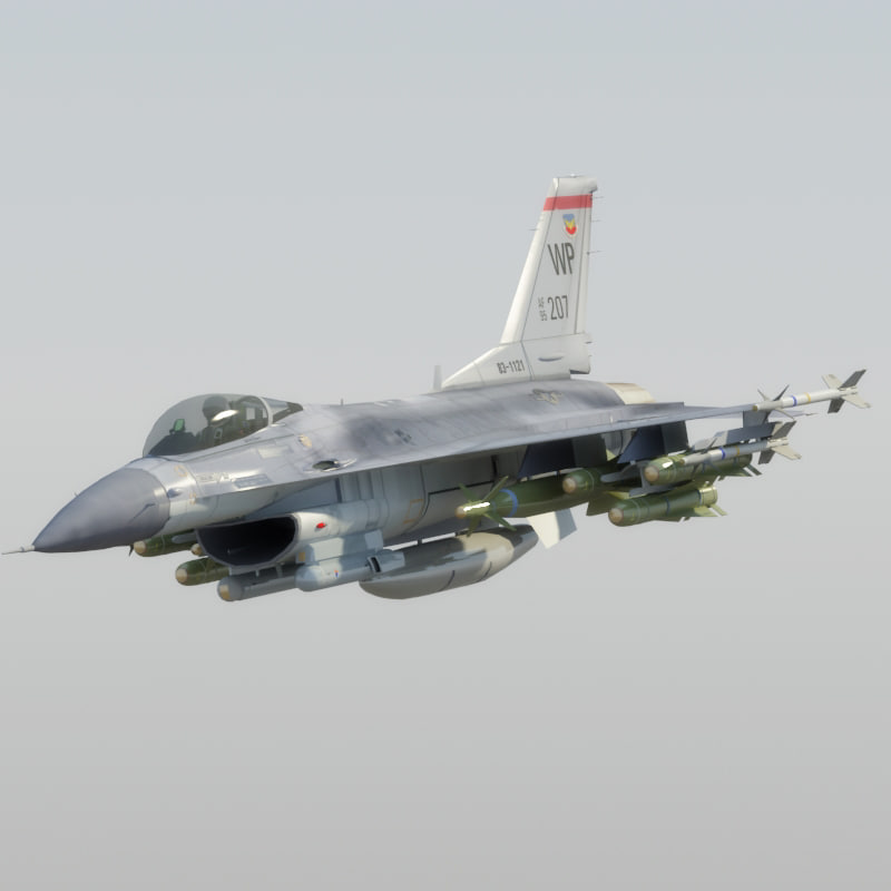 max f16c falcon usaf jet fighter