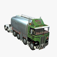 352 truck twin steer 3d lwo