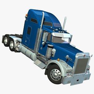 lwo truck w900 aerodyne