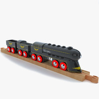 kids train toy locomotive 3d 3ds