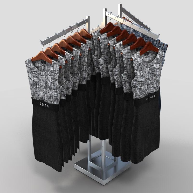 max women dresses rack